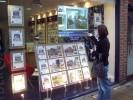 83. thru glass banner and image